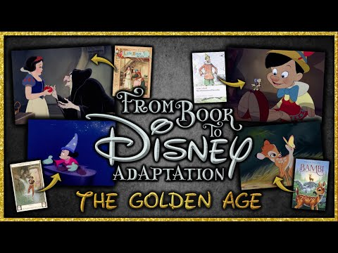 From Book to Disney Adaptation ✨ The Golden Age of Disney Animation