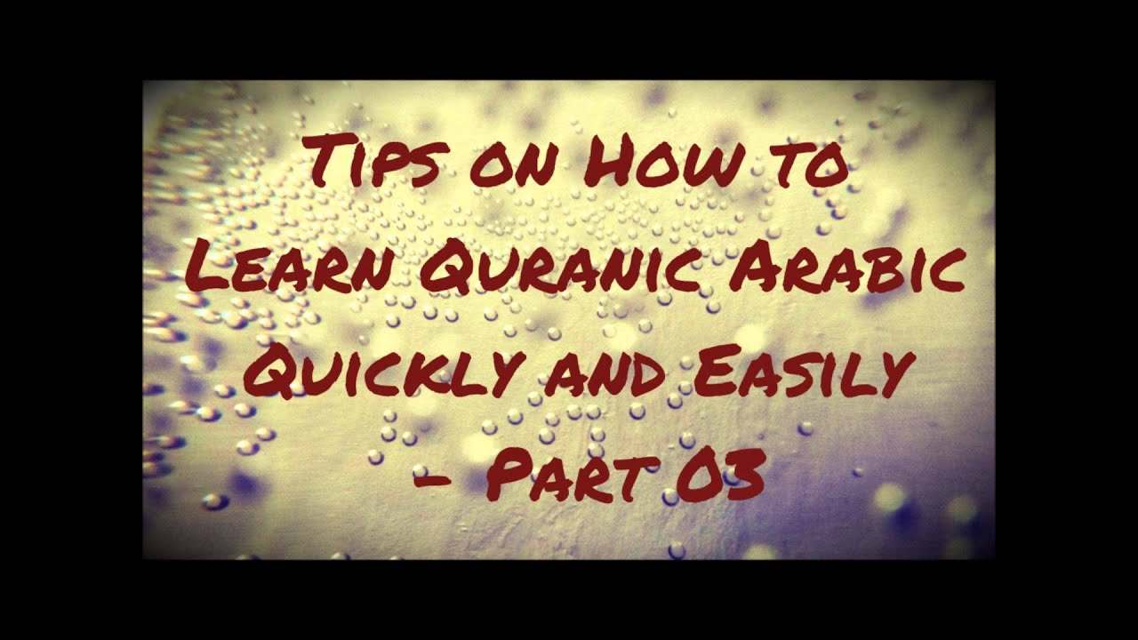 The Best Ways to Learn Arabic | Synonym