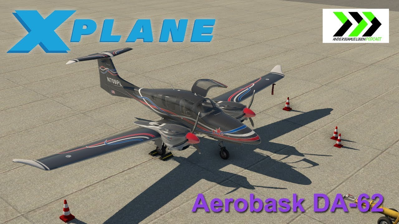 Aerobask DA-62 for X-PLANE 11
