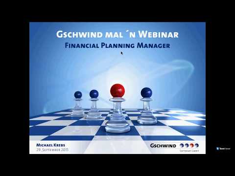 Reporting im GSCHWIND Financial Planning Manager