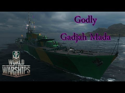 World Of Warships - Godly Gadjah Mada