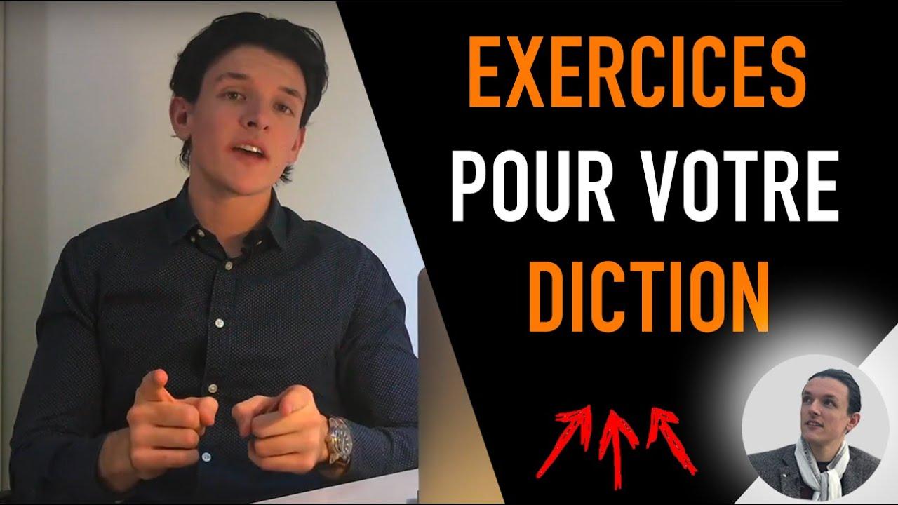 EXERCICES DE DICTION POUR AMÉLIORER SA DICTION FACILEMENT ...