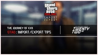 Import/Export Tips and Tricks - Easy Money, 100% No damage (Reupload)