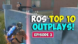 ROS Top 10 Plays! Ep.03 (Rules of Survival Montage)