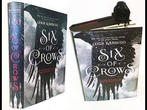 Six of Crows finished copies are in! - YouTube