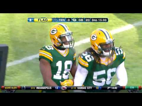 2012 Packers Destroy Titans 55-7 Highlights