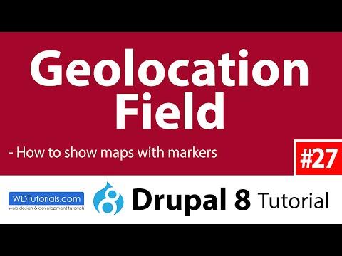 Geolocation Field (Drupal 8 Tutorial #27)