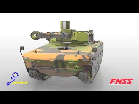 FNSS & PT Pindad - 105mm Modern Medium Weight Tank Simulation [1080p]