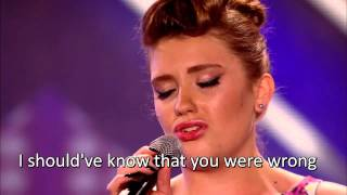 Ella Henderson X Factor Audition Lyric