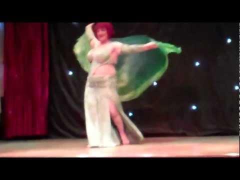 Gwen dancing at Casino el Layl, Liverpool, Sept 2011.