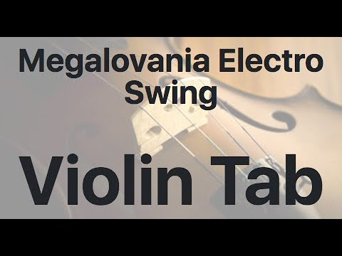 Learn Megalovania Electro Swing on Violin - How to Play Tutorial