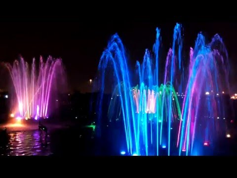 awesome musical fountain in lucknow
