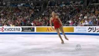 Yu-Na Kim  2009 World Figure Skating Championships FS Scott Hamilton Comm.