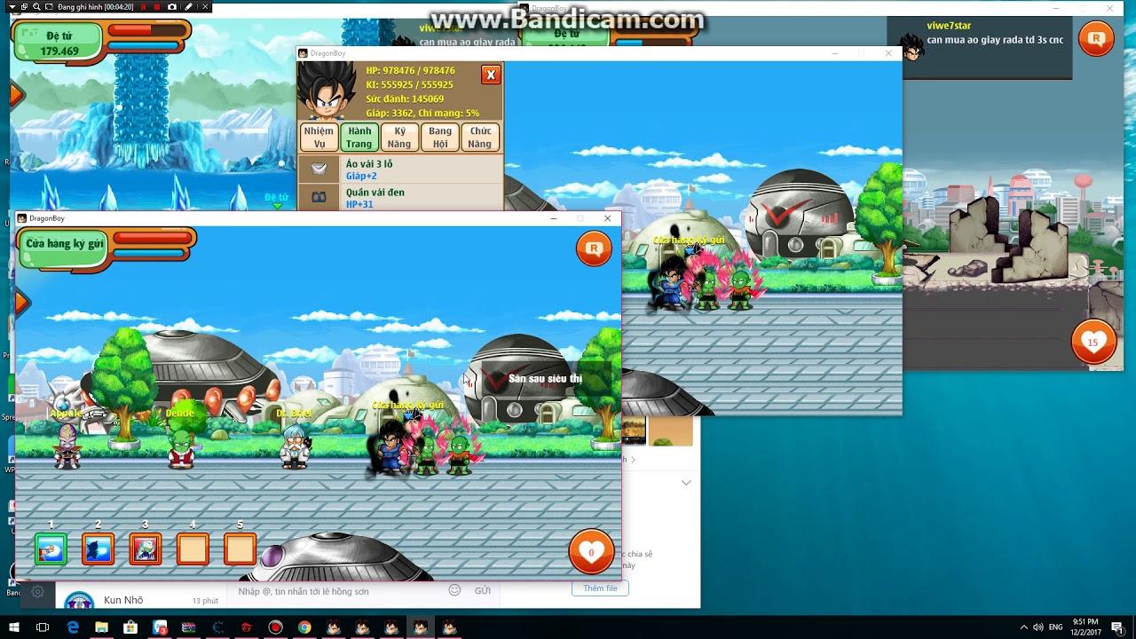 Ngọc Rồng Online sv6 - 1ty4 vàng và 1350n mở nội tại và cái kết