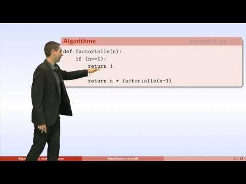 Algorithmes - partie