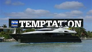 Palmer Johnson TEMPTATION | Arriving at Yachts Miami Beach