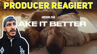 Producer REAGIERT auf Anderson .Paak - Make It Better (ft. Smokey Robinson) (Official Video)