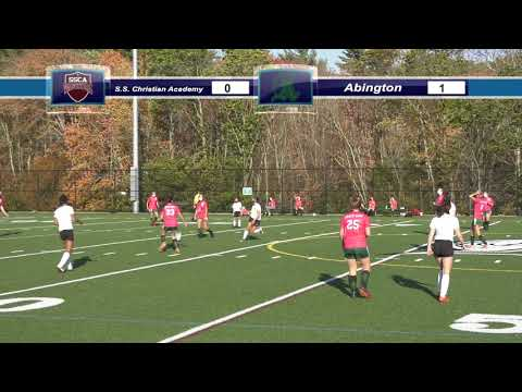 AHS Girls Varsity Soccer vs South Shore Christian Academy; Oct. 15, 2020