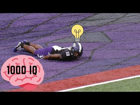 NFL/NCAA 1 MILLION IQ PLAYS (GENIUS)