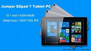 jumper EZpad 7 Unboxing Video View