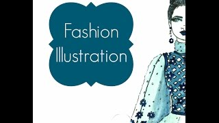 Fashion Illustration: Haute Couture Fashion Illustration