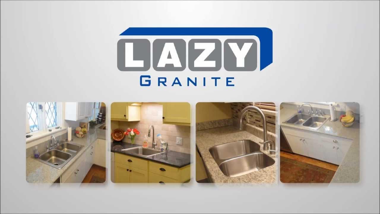 Lazy Granite Kitchen Countertops Granite Counters Youtube