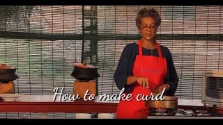 How to make curd?