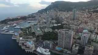 Монако - аэросъёмка. Monaco - aerial photography. Monaco - photographie aérienne.