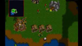 Warcraft II: The Dark Saga (PS1) Gameplay  -Part 1-
