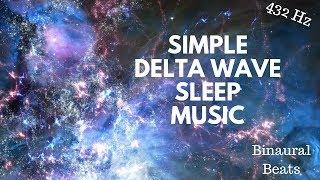 Delta Waves Meditation Music Binaural Beats 432 hz