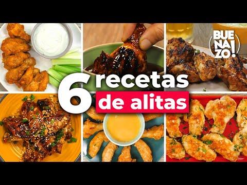 6 Alitas De Pollo