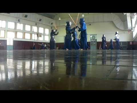 Weekend Kendo Jigeiko at Japanese school - Sai Gon Vietnam