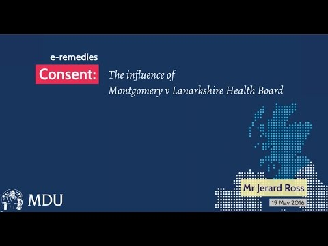 e-remedies - consent: montgomery v lanarkshire explained