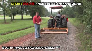 How To - Tractor Land Plane - Gravel Road Maintenance