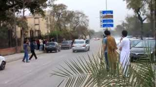 Battle Of The Cars 2012 Outside Of Edwards College Peshawar - 720 HD