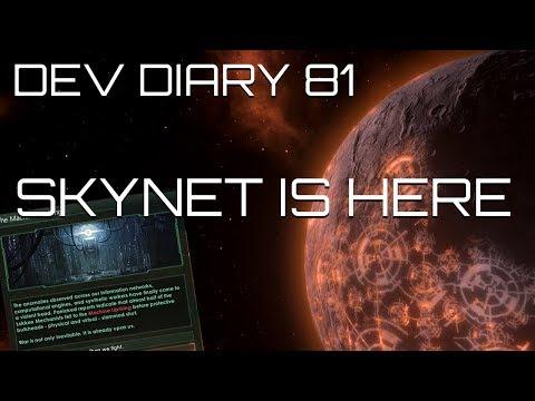 Stellaris Dev Diary #81 - Robot Uprisings (Skynet hungers)