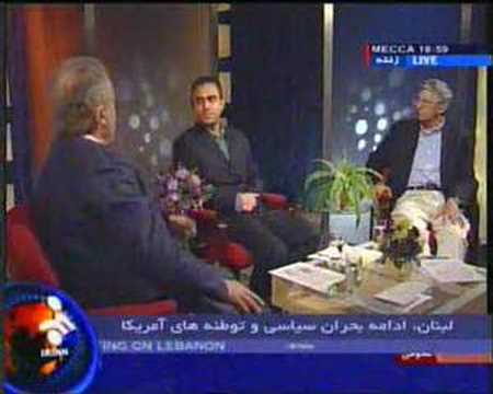 Meeting in Iranian TV about Lebanon Crisis
