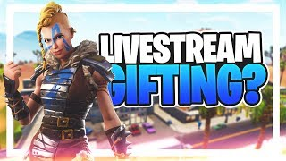 LIVESTREAM #135 - NOVO GIFTING SYSTEM A CHEGAR NO FORTNITE? WINS COM SUBS!