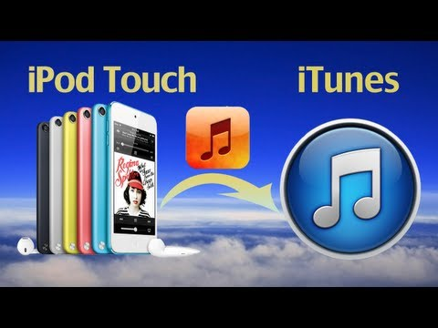 How To Transfer Music From IPod  To ITunes On PC,Backup IPod Touch Music To ITunes On New Computer