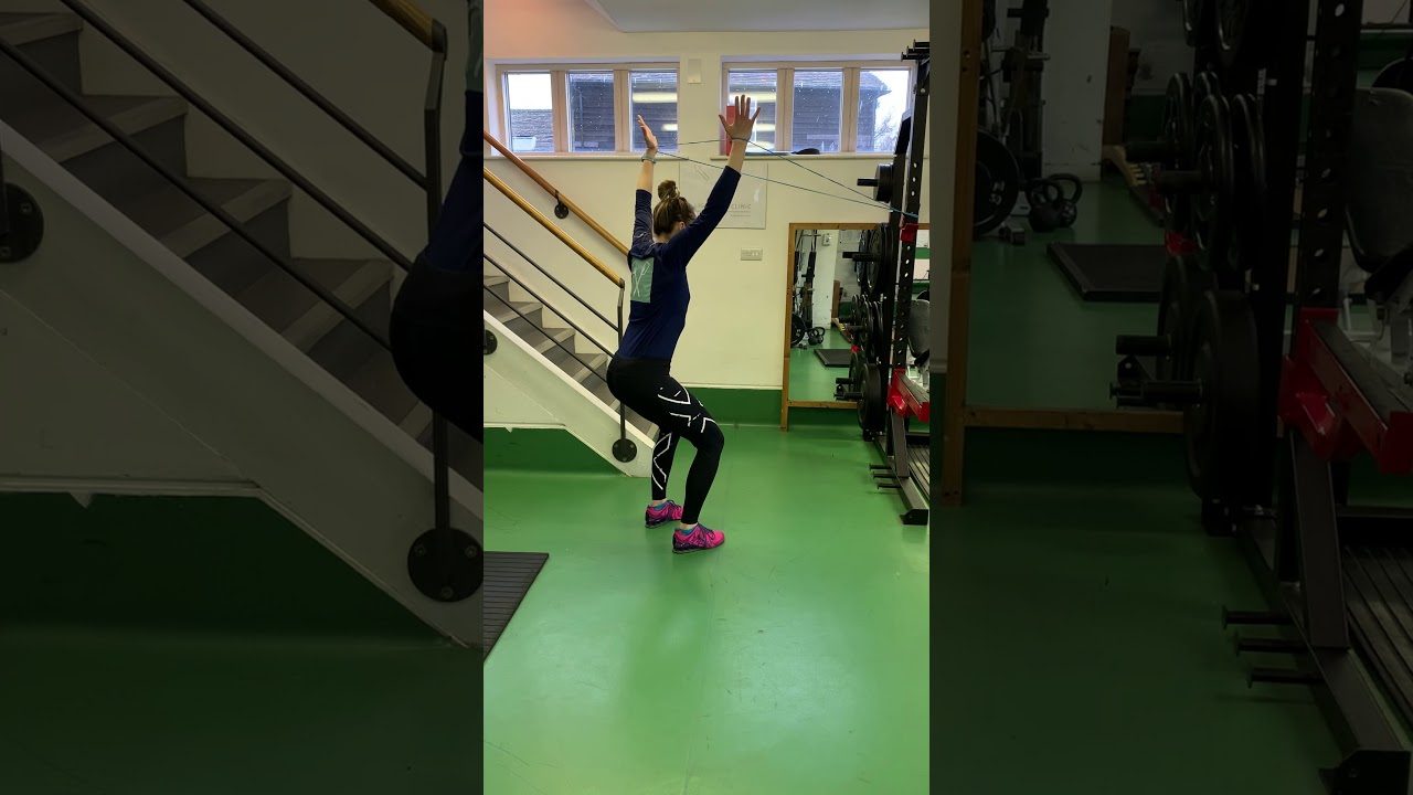 Face Pull with OH Squat