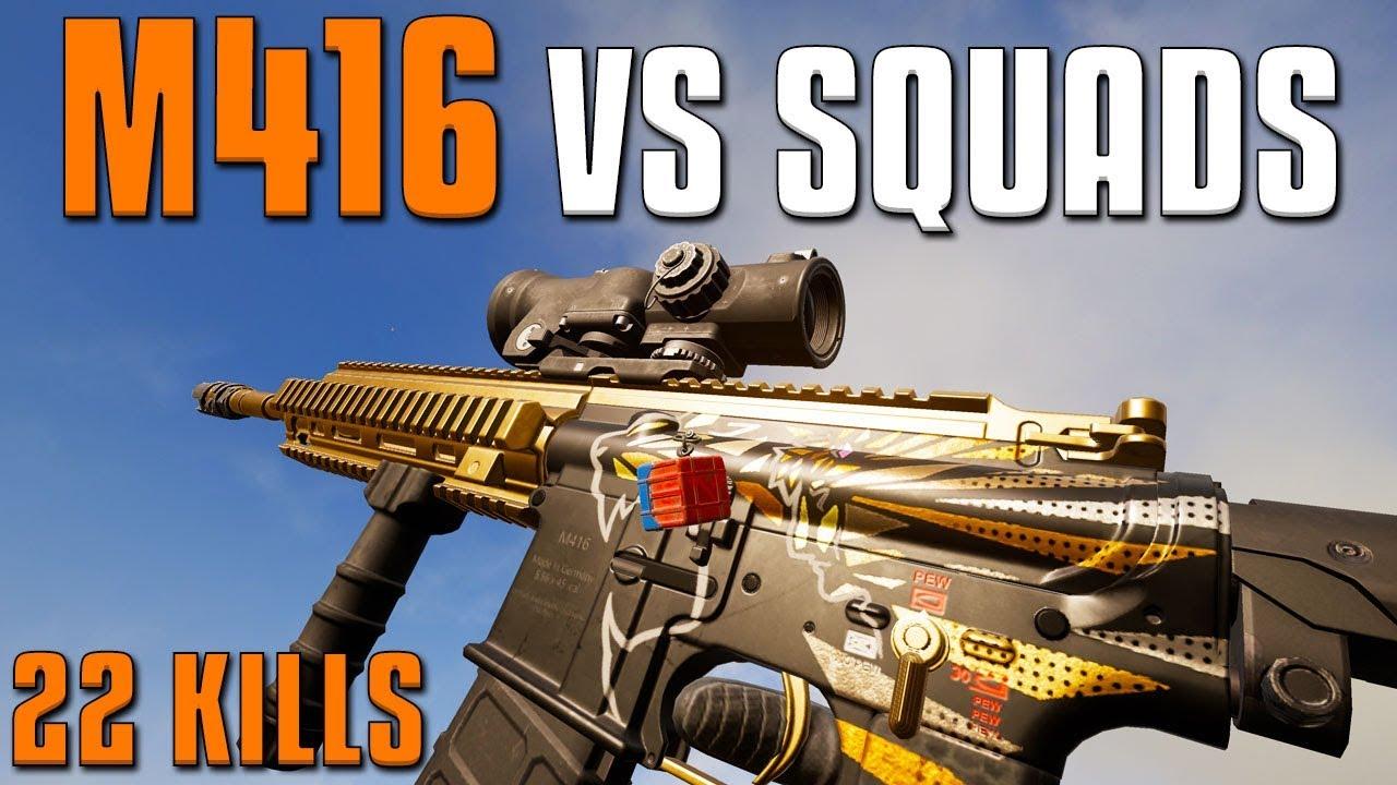M416 VS SQUADS - Das beste 556-Gewehr? | PUBG + video