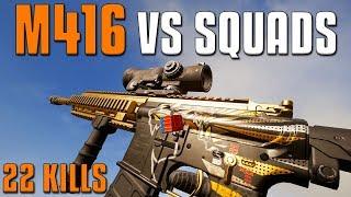 M416 VS SQUADS - The Best 556 Rifle? | PUBG