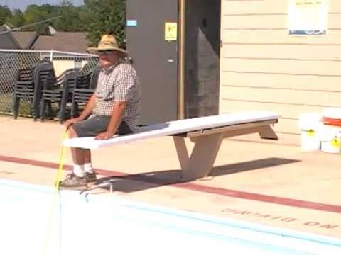 Swimming Pool Builder / Contractor, Augusta Aquatics - Diving Board Safety Issue - Part 2