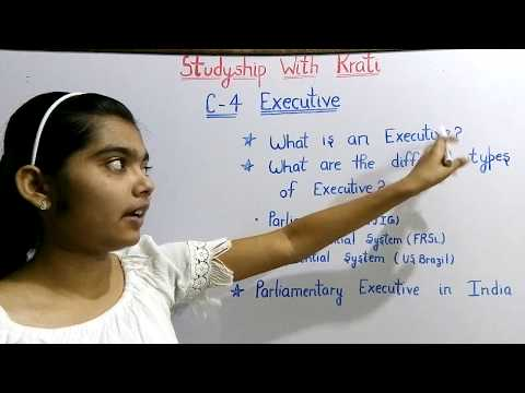 Class 11th Political Science Ncert Ch-4(Part-1)||Executive