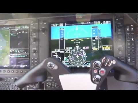 Phenom 100 Engine Start Cockpit View