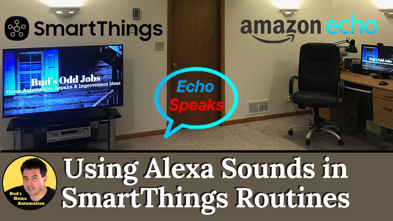 Use Alexa Sounds in SmartThings Routines Using Echo Speaks