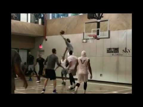 Download Youtube: Lebron James, Kevin Durant and Carmelo Anthony play pick up basketball is this ok with you?
