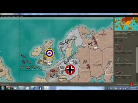 lets play: Axis and Allies (TripleA) Part 1/4