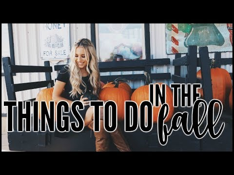 Fall Bucketlist | THINGS TO DO IN THE FALL