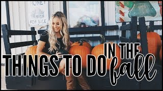 Fall Bucketlist | THINGS TO DO IN THE FALL 2017 Video